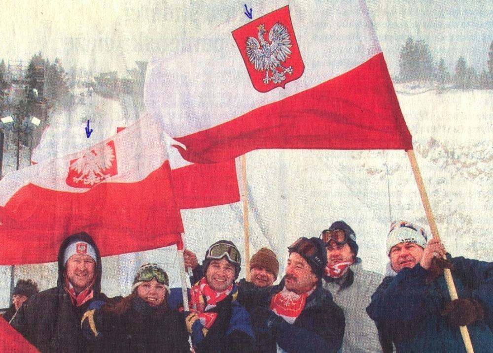 Spotyka się z czerwonymi flagami